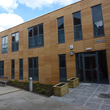 Elite's modular building at Harris Academy