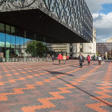 Wienerberger pave the way at Birmingham Library