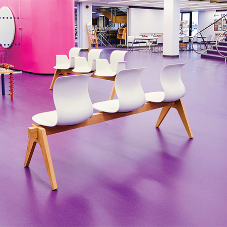 nora® rubber floorings for Solihull Library