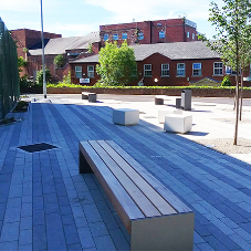 Street Furniture for Crewe Lifestyle Centre
