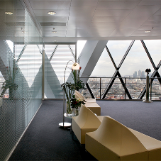 High quality flooring for Gherkin Building