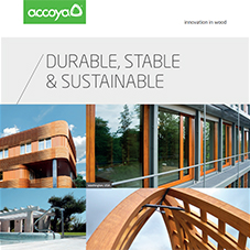 Durable, stable & sustainable: Accoya