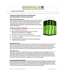 All systems go for GRG Green Glue cases