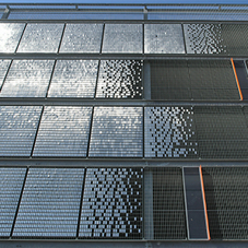 Wall gratings for Olympia car park