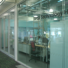 Teachwall 100G movable glass walls for University
