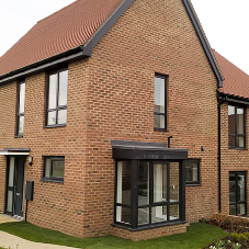 110 VEKA casements complete Sussex housing development