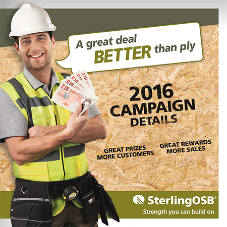 Norbord's new nationwide SterlingOSB merchant campaign