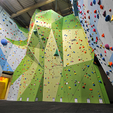 Stunning climbing walls in Harrogate