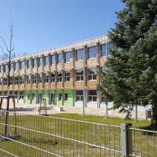 DiscreteHeat for Energy Plus School in Rostock, Germany