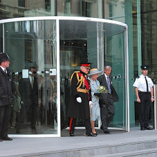 Record UK doors at Imperial College open for the Queen