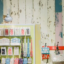 Interior cladding for Cath Kidston store