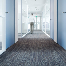 Quality linear carpet tile for Conference Centre
