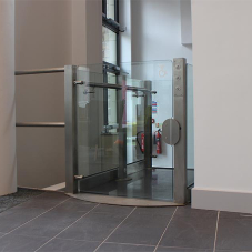 Premium open aspect platform lifts for university