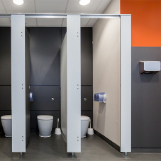 Amwell cubicles for Shebbear College refurb
