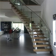 Bespoke balustrade for stunning open plan staircase