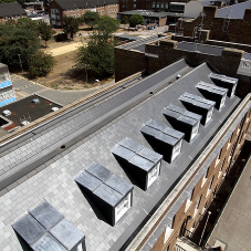 Cembrit slates provide finish for Woolwich Barracks
