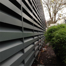 Acoustic louvers protect A&E unit from noise breakouts
