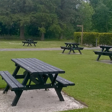 Sustainable Seats and Benches for Country Park