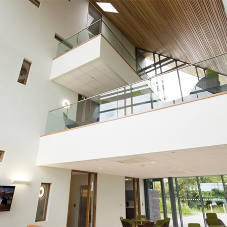 Glass balustrades for King's Lynn Innovation Centre