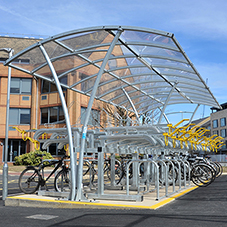 Broxap cycle parking for Anglia Ruskin