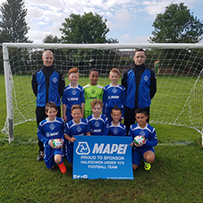 Mapei sponsor Halesowen Under 10s
