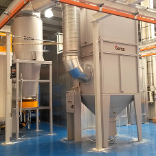 New powder coating facility for record uk