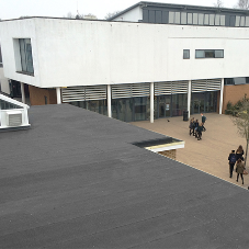 Flame-free roofing solutions ideal for schools