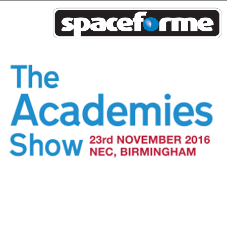 Spaceforme are exhibiting at the Academies Show