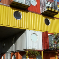 Polyroof brings thermal performance to Container City