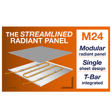 Price TWA launch new radiant panel