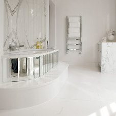 Limestone and marble for Weybridge Residence