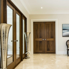 Stylish internal doors for luxury property