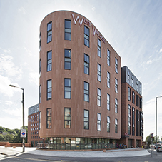 Metal Technology enhances student living at West Village