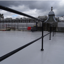 Hybrid waterproofing system for Clydesdale Bank