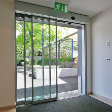 New slimline telescopic door automation