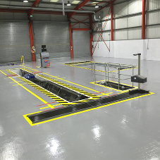 Sika provides a solid base for van & truck centre