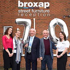Broxap celebrate 70 years in business