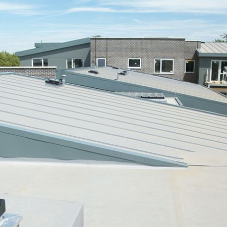 Aesthetic rooftop for housing trust