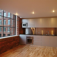 Kitchen units for city centre apartments