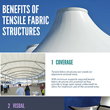 Benefits of Tensile Fabric Structures