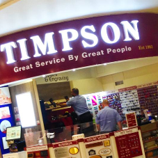 New Vision provide signage for Timpson stores