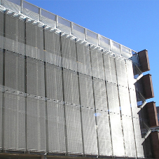 Architectural mesh for Princesshay Shopping Centre