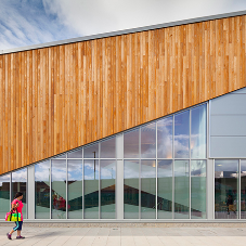 Reynaers for Washington Leisure Centre development