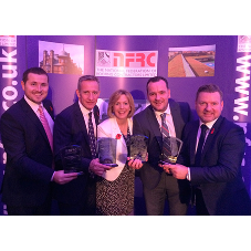 Quadruple success for Bauder at Scottish roofing awards