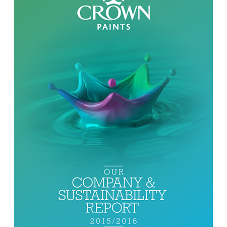 Crown Paints shares sustainability agenda