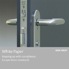 Abloy releases Escape Doors Standards white paper