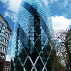 10,000m of Lignacite concrete blocks in The Gherkin