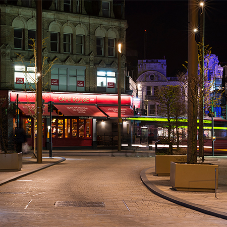 Bespoke street lighting to reduce street clutter