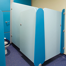 Lollipop cubicles for Lyons Hall Primary