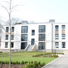External wall insulation for Sheffield uni accommodation